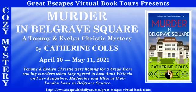 Murder in Belgrave Square tour graphic